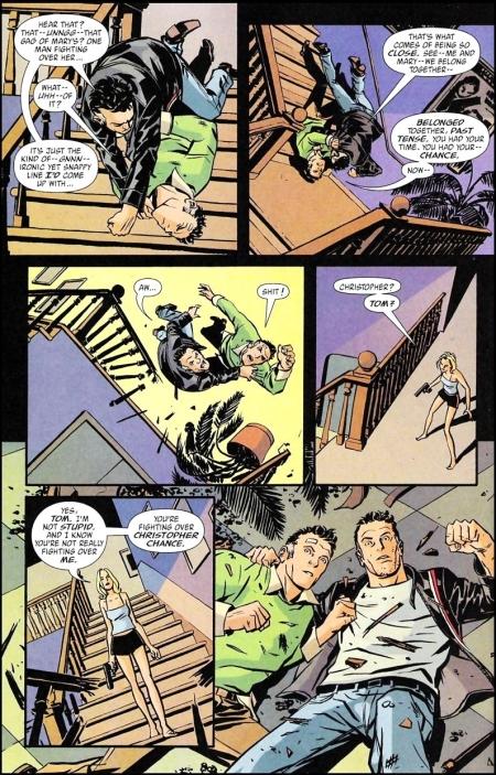 HUMAN TARGET Nº21 PAGE 18 COLOR