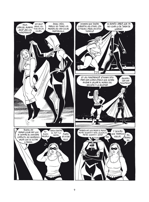 Jaime Hernandez - El retorno de las Ti-Girls-Tripa.indd