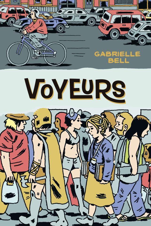 Gabrielle Bell - Voyeurs - cubierta.indd