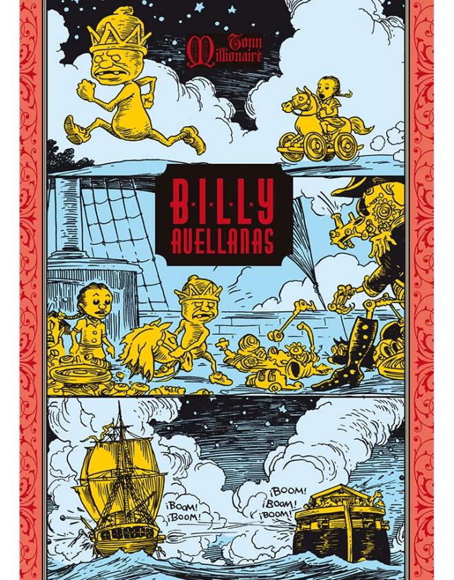 Tony  Millionaire - Billy Avellanas - Cubierta.indd