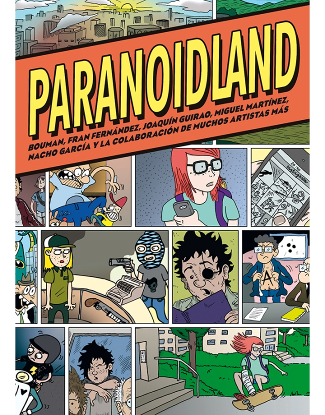 Paranoidland - Integral - Cubierta.indd