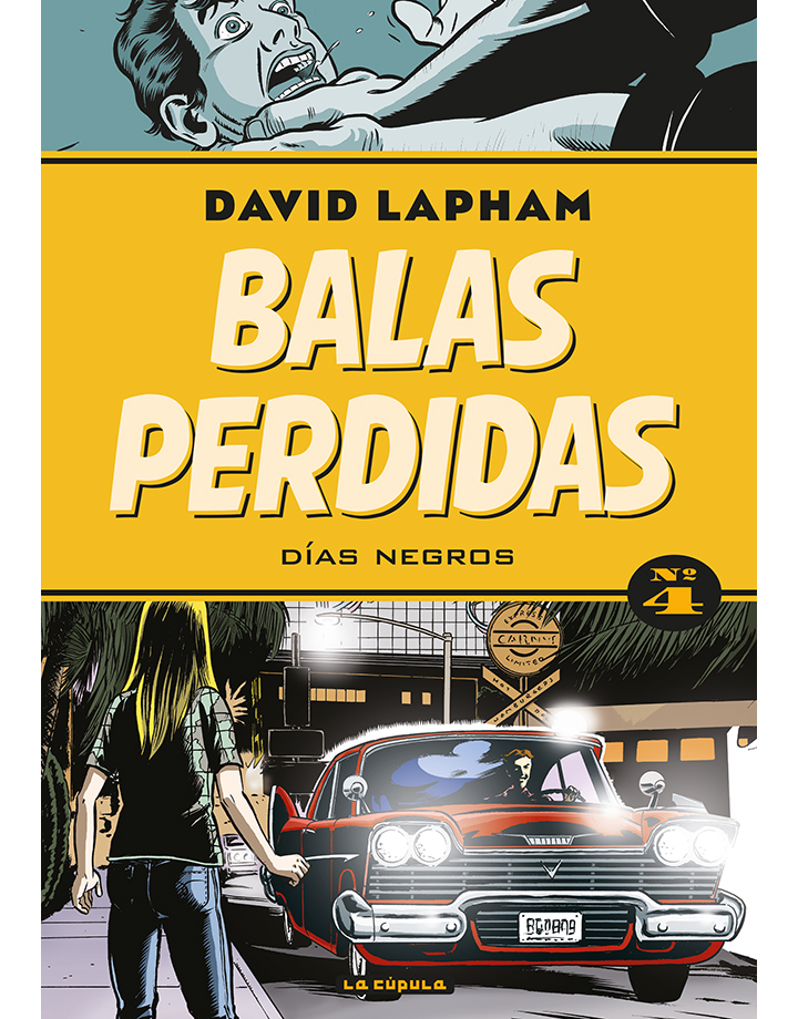 David Lapham - Balas perdidas 4- cubierta.indd
